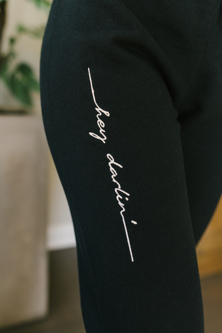 FLETCH by JoJo Hey Darlin' Joggers  - Black
