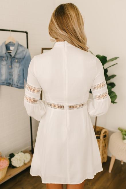 Jack by BB Dakota Give Me the Details Dress - Off White - FINAL SALE