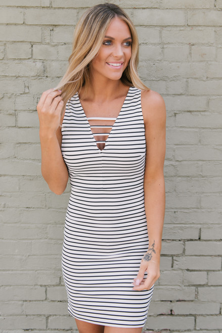e58fe406dd9 Jack by BB Dakota Summer Nights Dress - Black White