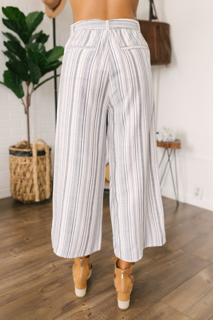 Jack by BB Dakota Not My Type Pants - Off White- FINAL SALE