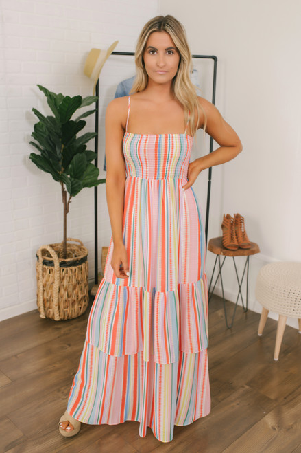 Jack by BB Dakota True Colors Maxi - Powder Pink