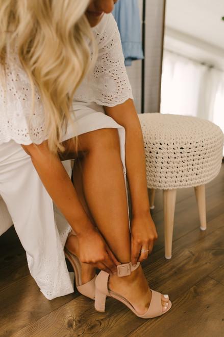 Chinese Laundry Rumor High Heels - Nude - FINAL SALE