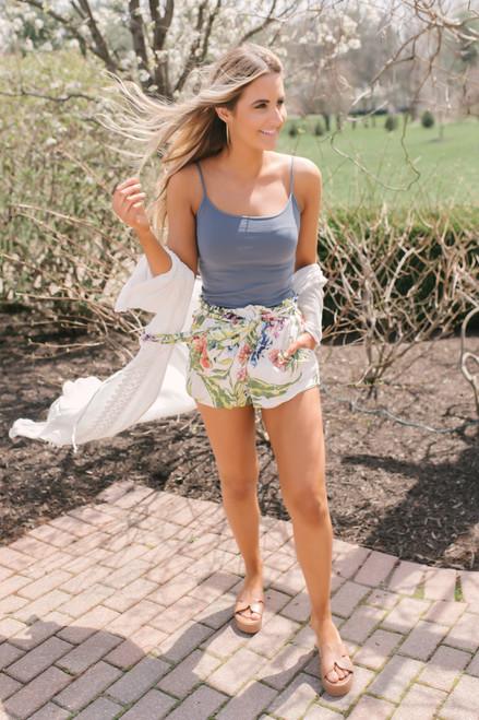 Wanderlux Yellowstone Shorts - Jungle Bouquet