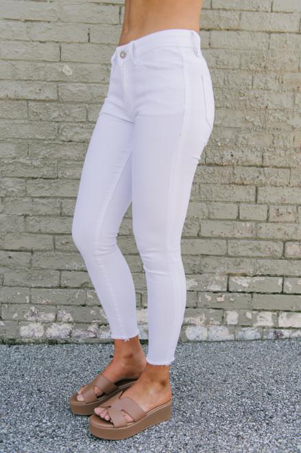 Catalina Island Skinny Jeans - White