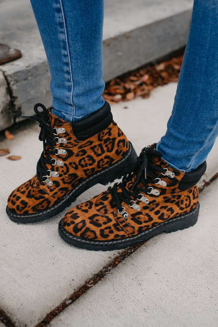 Dirty Laundry Cristal Booties - Leopard