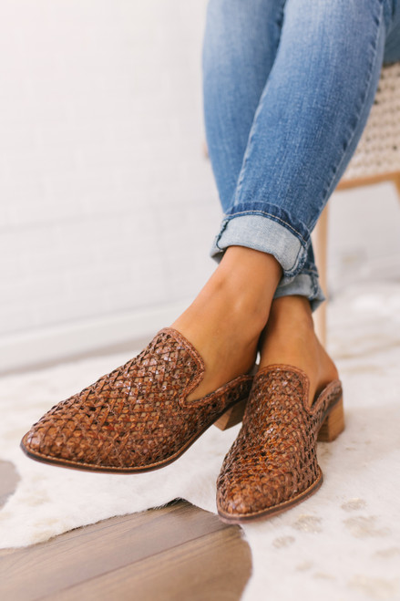 Chinese Laundry Miller Mules - Cognac