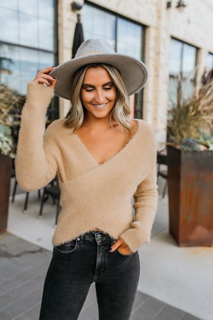 Sage the Label Marah Sweater - Tan