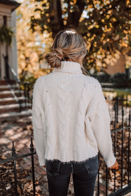 Sage the Label Celestial Sweater - Ivory
