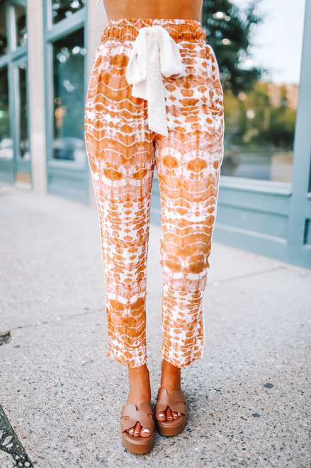 Wanderlux Sierra Pants - Sherbet Tie Dye