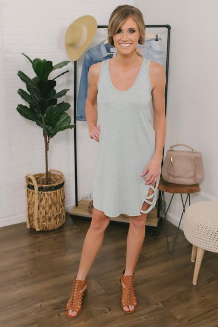 Wanderlux Kingston Dress - Aqua Chambray