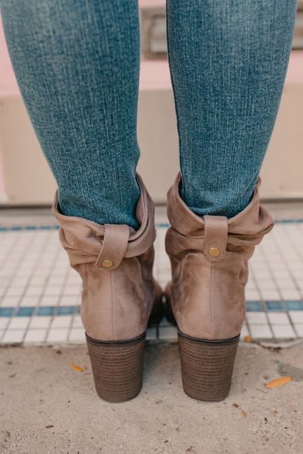 CL by Laundry Kalie Suede Booties - Steel