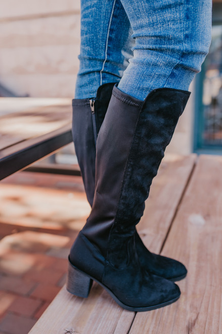 Chinese Laundry Karma Boots - Black - FINAL SALE