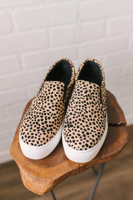Slip On Platform Sneakers - Leopard