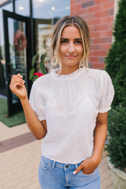 Free People Letters to Juliet Blouse - Ivory