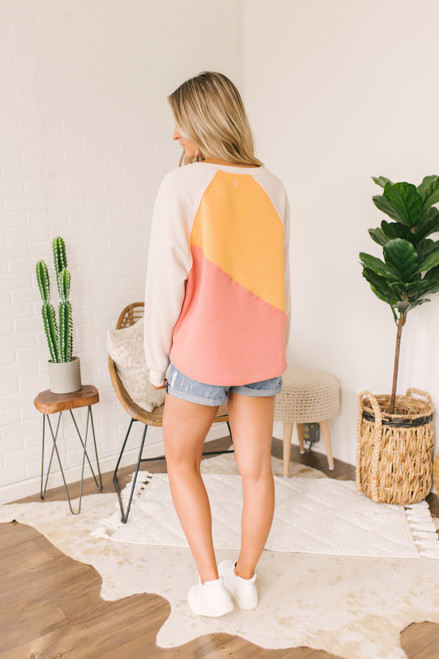 Free People Kindle Up Pullover - Casa Rosa Combo