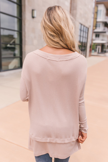 Free People North Shore Thermal - Sand