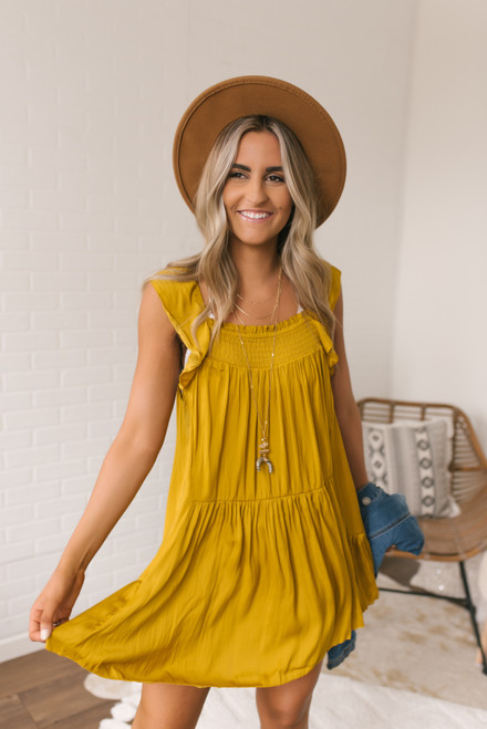 Free People Want Your Love Dress - Absinthe - FINAL SALE
