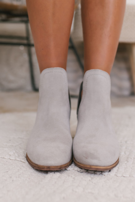 Coconuts by Matisse Pronto Booties - Grey - FINAL SALE