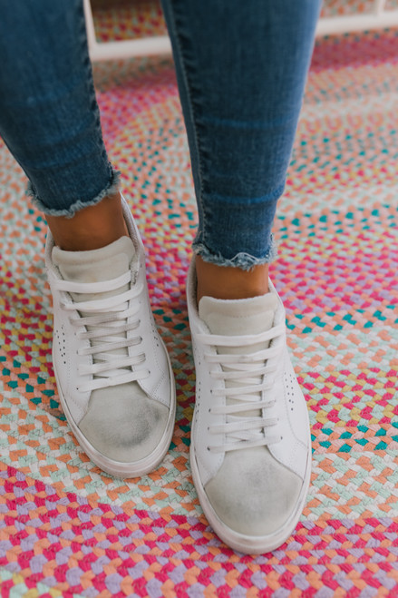Steve Madden Rezza Sneakers - White