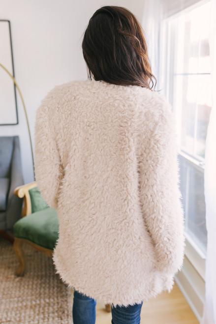 BB Dakota Soft Spot Wubby Coat - Ivory