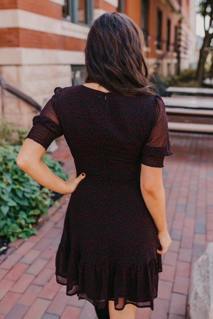 BB Dakota You Give Me Fever Star Dress - Black  - FINAL SALE