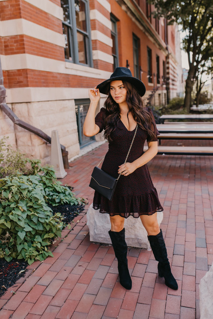 BB Dakota You Give Me Fever Star Dress - Black