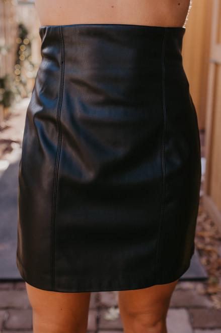 BB Dakota Girl Crush Skirt - Black