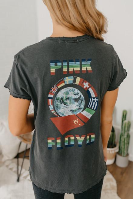 Junk Food Pink Floyd Tee - Vintage Black