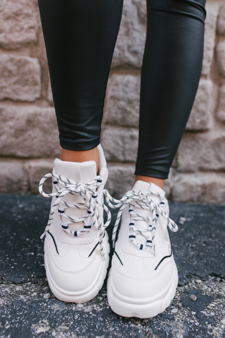 Dirty Laundry Britney Sneakers - White