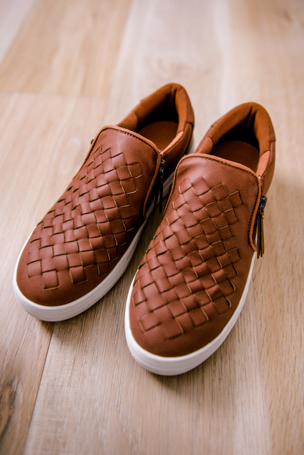 Not Rated Tiffani Sneakers - Dark Blush