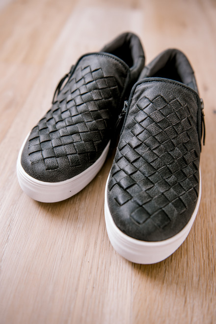 Not Rated Tiffani Sneakers - Charcoal