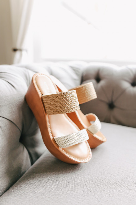 Chinese Laundry Wind Wedge Sandals