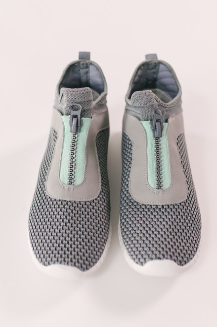 Dirty Laundry Helium Knit Sneakers - Grey