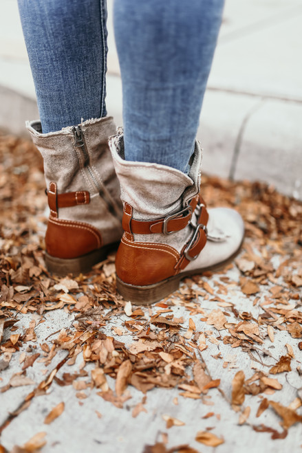 Dirty Laundry Tycen Canvas Boots - Tan