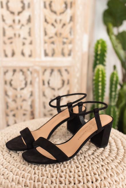 Chinese Laundry Yummy Heeled Sandals - Black