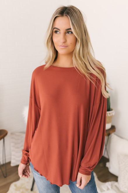 Free People Shimmy Shake Top - Brown
