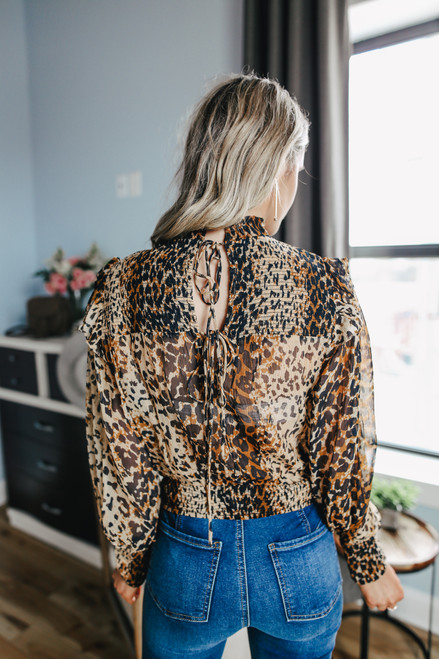Free People Roma Blouse - Leo Combo