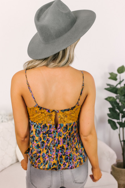 Free People Little Dreams Cami - Gold