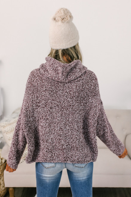 Free People BFF Sweater - Chocolate