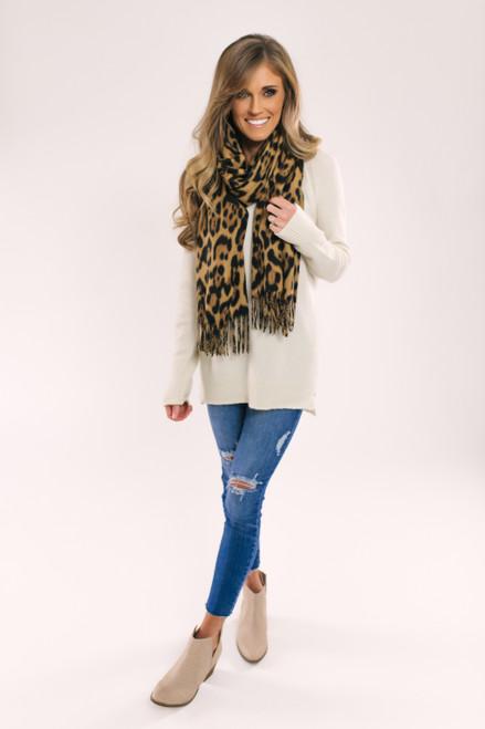 V-Neck Raglan Sweater - Ivory - FINAL SALE