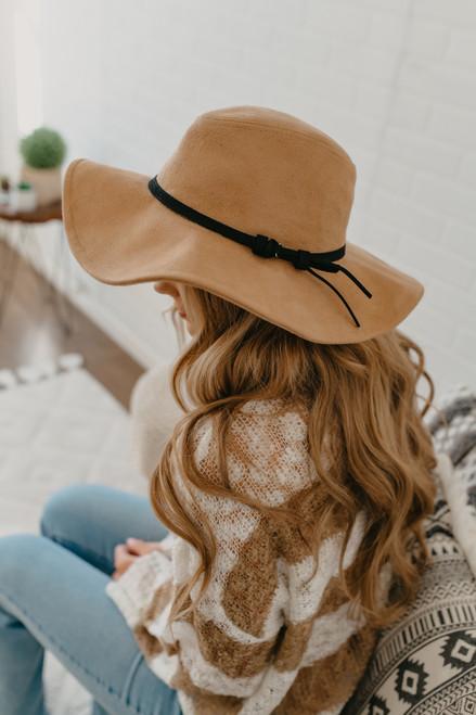 braided floppy hat