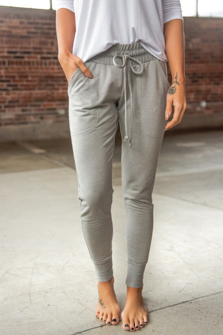 Free People Sunny Skinny Grey Sweatpants
