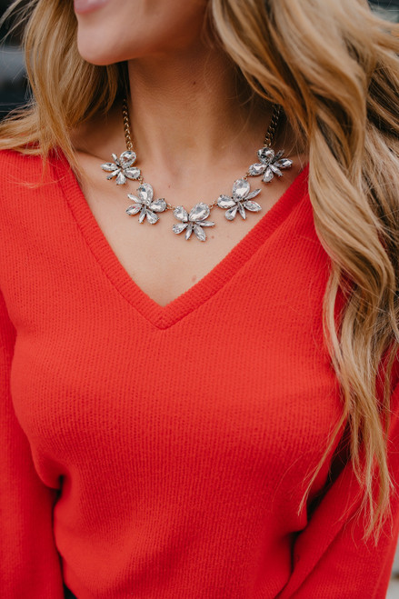 Dare to Dream Shimmer Necklace - Crystal