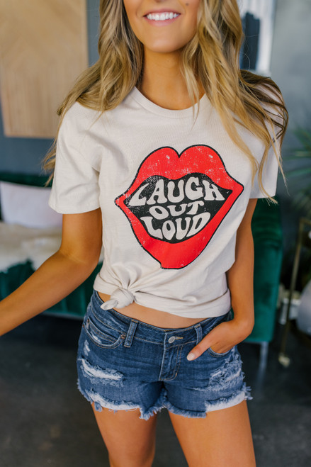 Laugh Out Loud Clay Tee