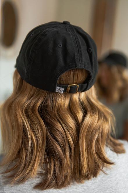 Covering My Bases Black Baseball Hat