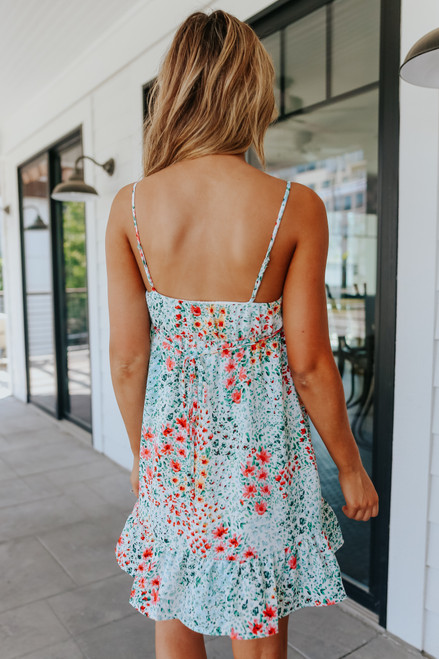 Everly Island Getaway Floral Dress