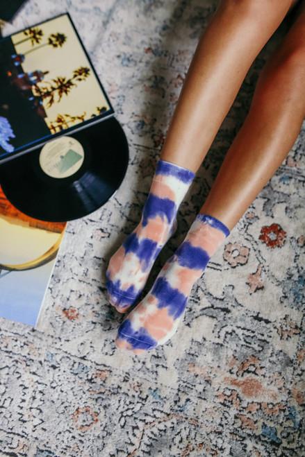 Trippy Tie Dye Socks