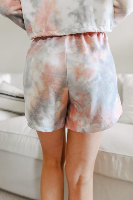 Soft Brushed Tie Dye Shorts