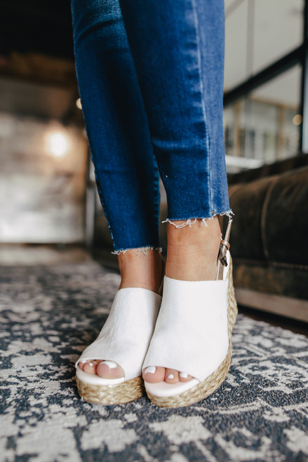 Coconuts by Matisse Frisco Ivory Wedges