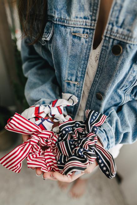 Americana Scrunchie Set